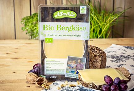 Bio Bergkäse <br/> in Scheiben