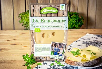 Bio Emmentaler <br/> in Scheiben