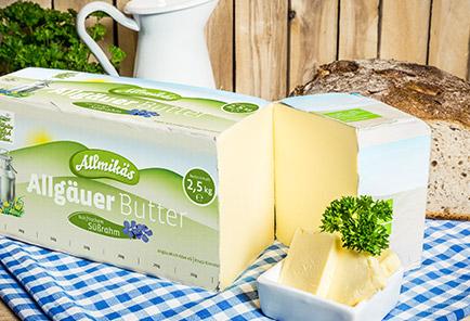 Allgäuer Butter 2,5 kg
