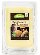 Bergbauern Raclettekäse in Scheiben