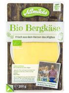 Bio Bergkäse in Scheiben